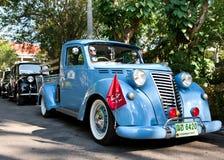 Autorización 1100 en desfile del coche de la vendimia Imagen de archivo