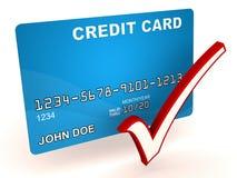 Autorización de la tarjeta de crédito libre illustration