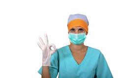 AUTORIZACIÓN del cirujano. Imagen de archivo libre de regalías