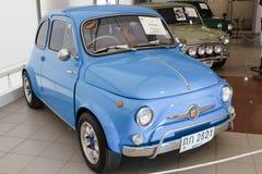 Autorización Nuova 500, coches de la vendimia Imágenes de archivo libres de regalías