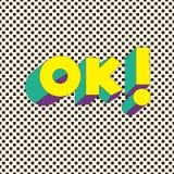 ¡AUTORIZACIÓN! - Tarjeta de la tipografía con las letras Cartel de Minimalistic Fotografía de archivo
