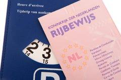 Autorizzazione di driver olandese Immagine Stock