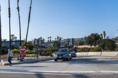 autoroute 101 à Los Angeles Images libres de droits