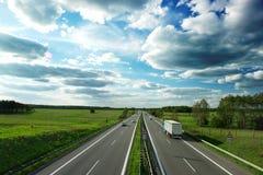 autoroute Image stock