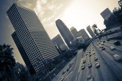 Autoroute de Los Angeles photographie stock libre de droits