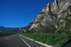 Autoroute from Trento Italy Royalty Free Stock Photo