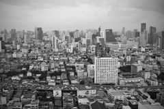 Autoroute urbaine de Bangkok Photo libre de droits