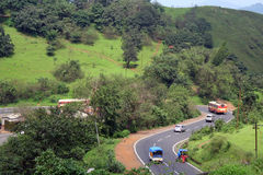 Autoroute urbaine de Bombay Pune Photographie stock libre de droits