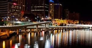 Autoroute urbaine de Riversid Photographie stock libre de droits