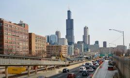 Autoroute urbaine du congrès Photos stock