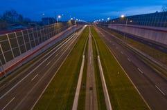 Autoroute urbaine S17 Photographie stock