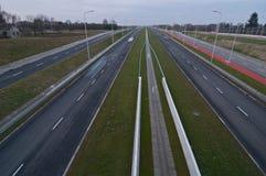 Autoroute urbaine S17 Images stock