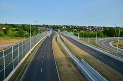 Autoroute urbaine S17 Photo stock