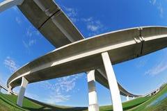 Autoroutes urbaines du sud de la Floride. Photos stock