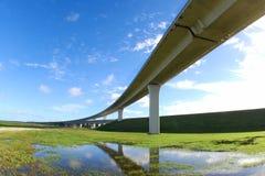 Autoroutes urbaines du sud de la Floride. Photo libre de droits