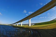 Autoroutes urbaines du sud de la Floride. Photographie stock libre de droits