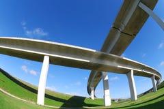 Autoroutes urbaines du sud de la Floride. Photos libres de droits