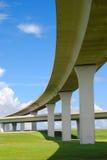 Autoroutes urbaines du sud de la Floride. Images stock
