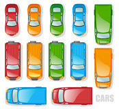 Autos vektor abbildung