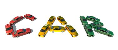 Autos Lizenzfreie Stockbilder