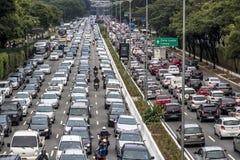 Autos auf Asphalt Lizenzfreie Stockbilder