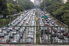 Autos auf Asphalt Stockfoto