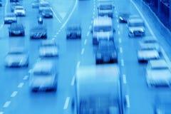 Autos auf Straße stockfotos