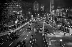 Autos auf Straße Stockbild