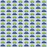 Autos für Babymuster Stockfotografie