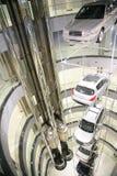 Autos im System Stockfotografie