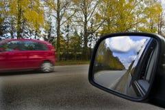 Autos on the road. Royalty Free Stock Photos