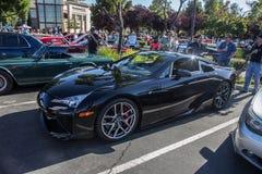 Autos und Kaffee Blackhawk am 6. Juli 2014 Stockfotografie