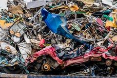 Autos wurden ausrangiert lizenzfreies stockfoto