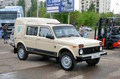Autosalon 2008, Ufa Stock Image