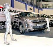 Autosalon 2012, Ufa Royalty Free Stock Images