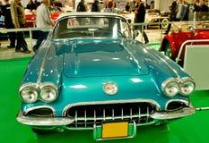 Autosalon Sistani 2014 - Chevrolet korweta Zdjęcie Stock