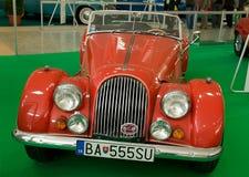 Autosalon Sistani 2014 - Czerwony Morgan Zdjęcia Royalty Free