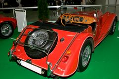 Autosalon Slovakia 2014 - Red Morgan interier Royalty Free Stock Images