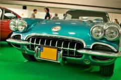 Autosalon Slovakien 2014 - Chevrolet Corvette Arkivbilder