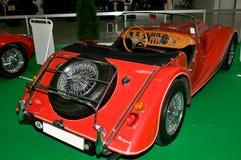 Autosalon Slowakije 2014 - Rood meer interier Morgan Royalty-vrije Stock Afbeeldingen