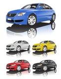Autosammlung Vektor Lizenzfreies Stockbild