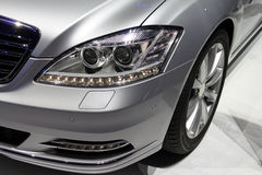 Autoscheinwerfer Lizenzfreies Stockbild