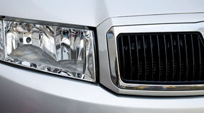 Autoscheinwerfer Lizenzfreie Stockbilder