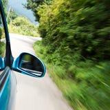 Autoschnell fahren Lizenzfreies Stockbild