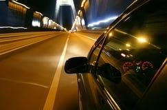 Autoschnell fahren Lizenzfreie Stockbilder