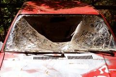 Autoschrott lizenzfreie stockbilder