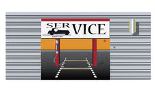 Autoservice-Vektor Stockfotografie