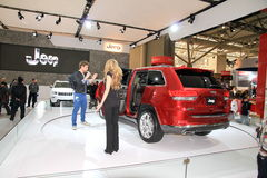 AutoShow international canadien Images libres de droits