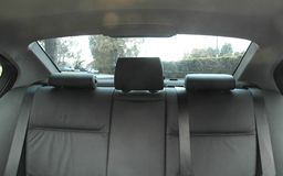 Autositze Stockfoto