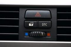 Autositzhebel Stockfoto